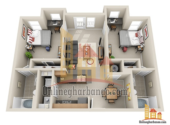 Best 3d Floor Plans Readymade House Plans Free