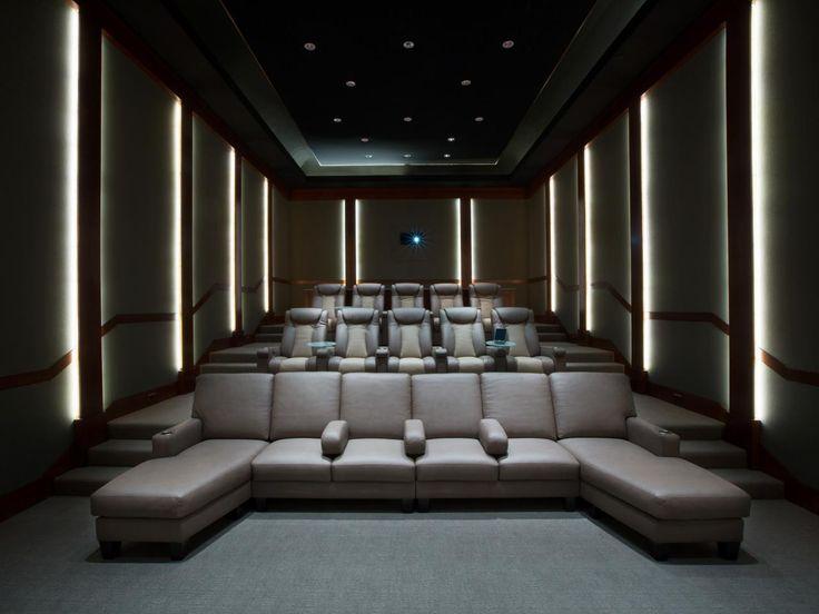 Home Theater Interior Designs